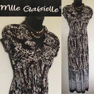 Leopard pattern Long Dress